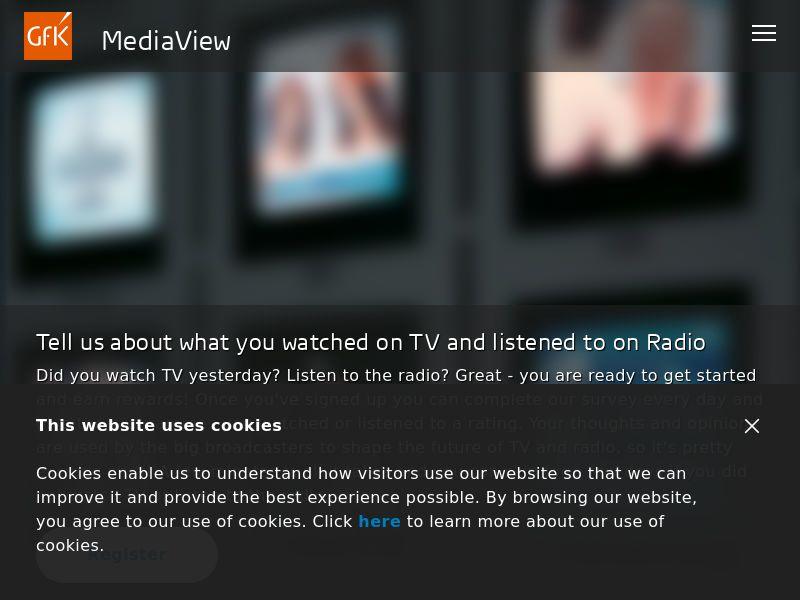 GFK MediaView DOI UK