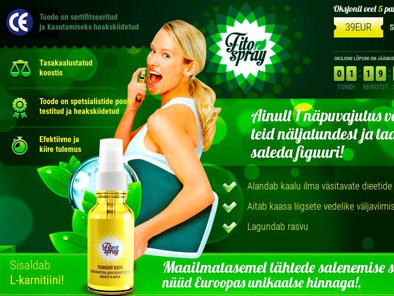 Fitospray EE - weight loss spray
