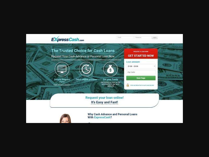 Express Cash - Cash Advance/Personal Loan (US)