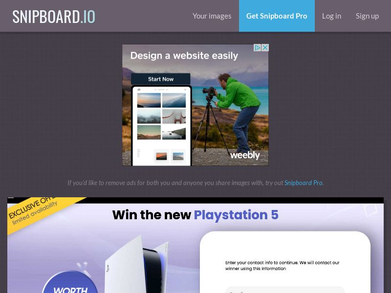 YouSweeps - Win a PlayStation 5 PS5 AU - SOI