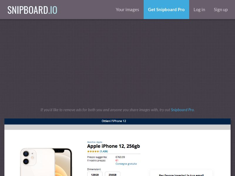 iPhone 12 - CC - IT (IT), [CPA]