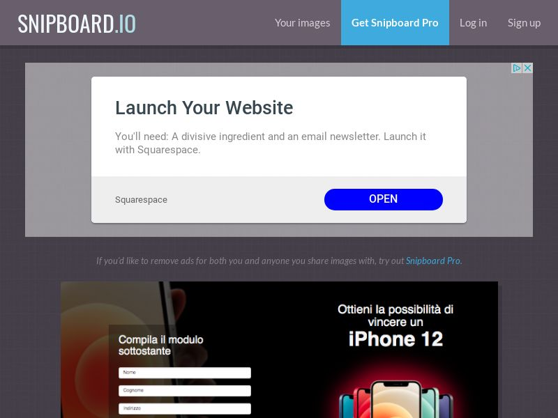 BigEntry - iPhone 12 v1 IT - CC Submit
