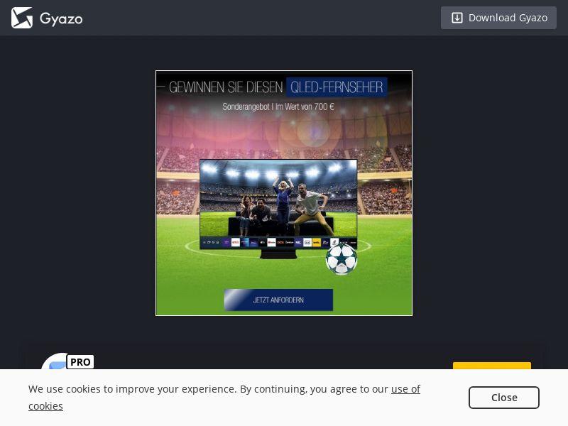 EURO 2020 - Win QLED TV (DE) (CPL)