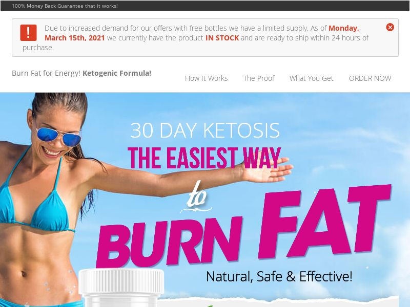 Ultra Thermo Keto SS - UK/IE