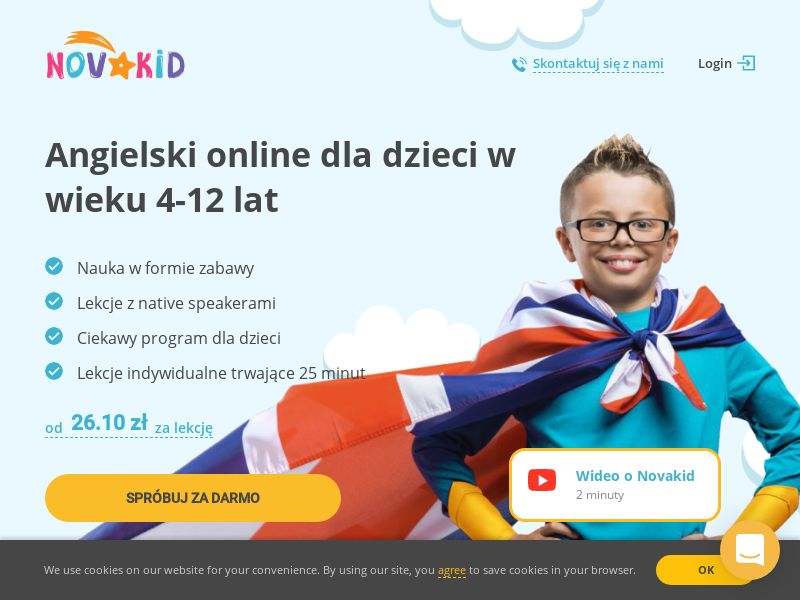 Novakid (CZ,IT,PL,PT,RO), [CPA], Knowledge, Trainings, House and Garden, For children, guide, shop, gift