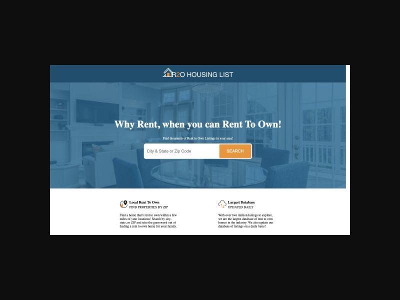 RentToOwn Housing List (US) CPL
