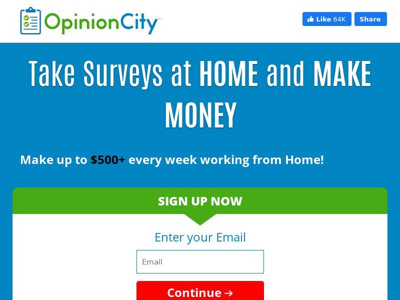Opinion City-Survey