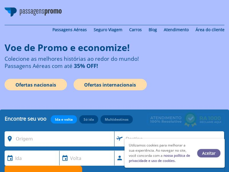 Passagens Promo BR CPS