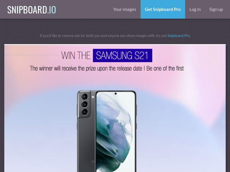 LeadsWinner - Samsung Galaxy S21 UK - SOI