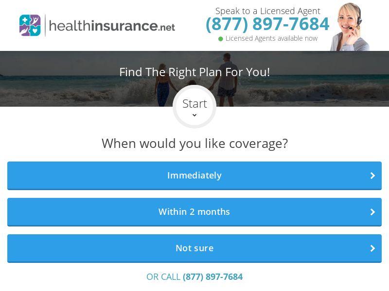 HealthInsurance.net [US] (Social,Native,Banner) - CPL {Mon - Fri | 8AM-8PM EST}