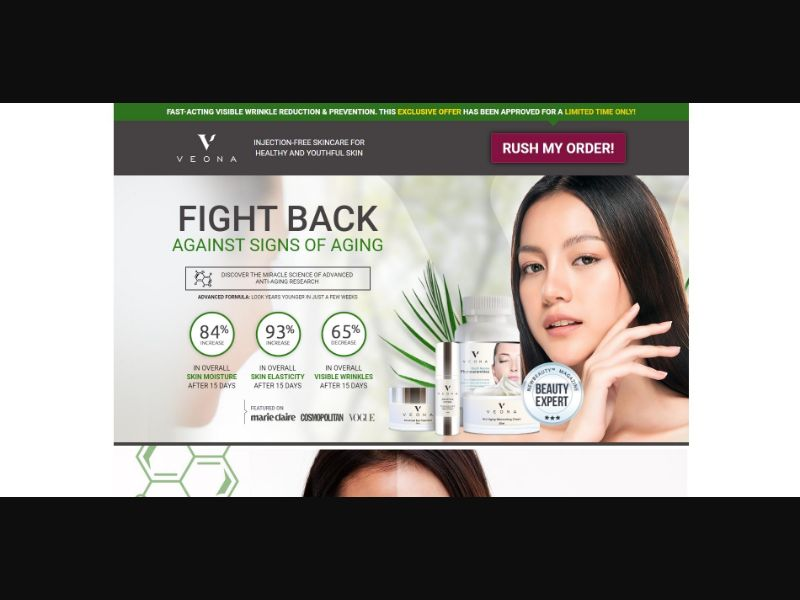 Veona Beauty - Skin Care - SS - [19 GEOs]