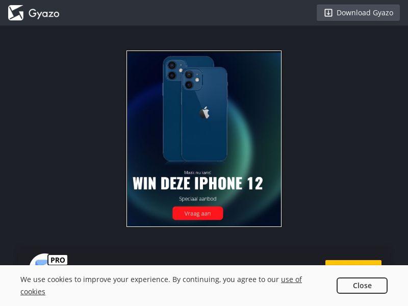 iPhone 12 Contest (NL) (CPL)
