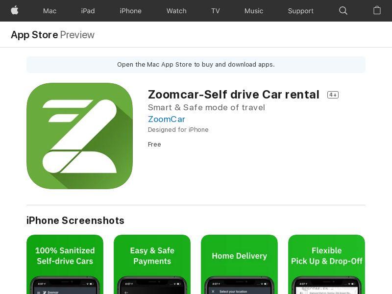 Zoomcar_iOS_IN (CPO=car rental)