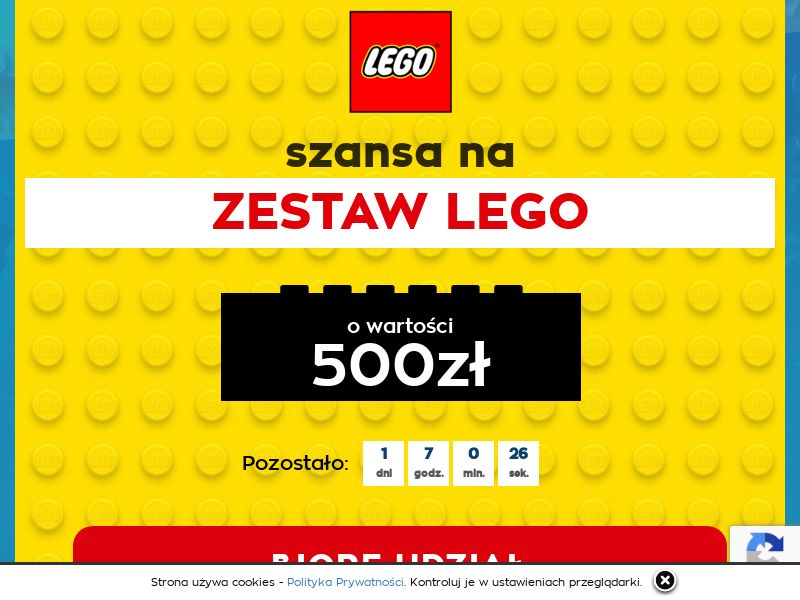Lego (PL), [CPL], Lotteries and Contests, Survey, paypal, survey, gift, gift card, free, amazon