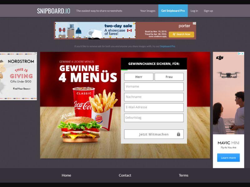 LeadMarket - Burger King - SOI - (DE)
