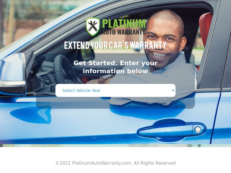 US - Platinum Auto Warranty - CPL (Personal Approval)