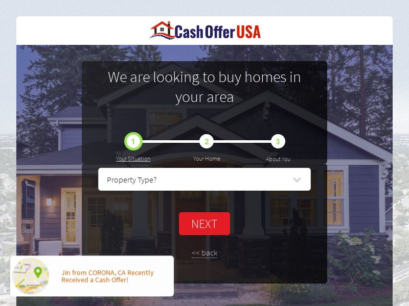 Cash Offer USA [US] (Email,Social,Native,Banner,SEO) - CPL