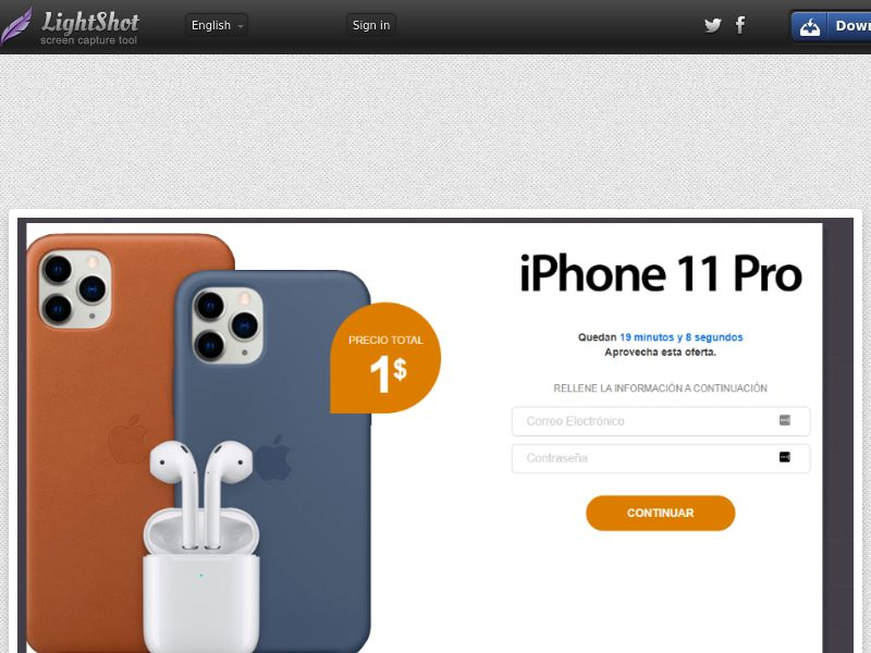 Junebox iPhone 11 Pro (Sweepstake) (CC Trial) - Puerto Rico [PR]