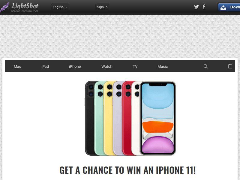 Thai Giveaway - iPhone 11 (Sweepstake) (SOI) - Thailand