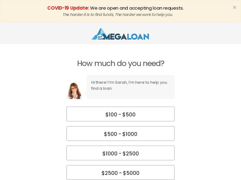(13047) [WEB+WAP] Megaloan - US - CPA