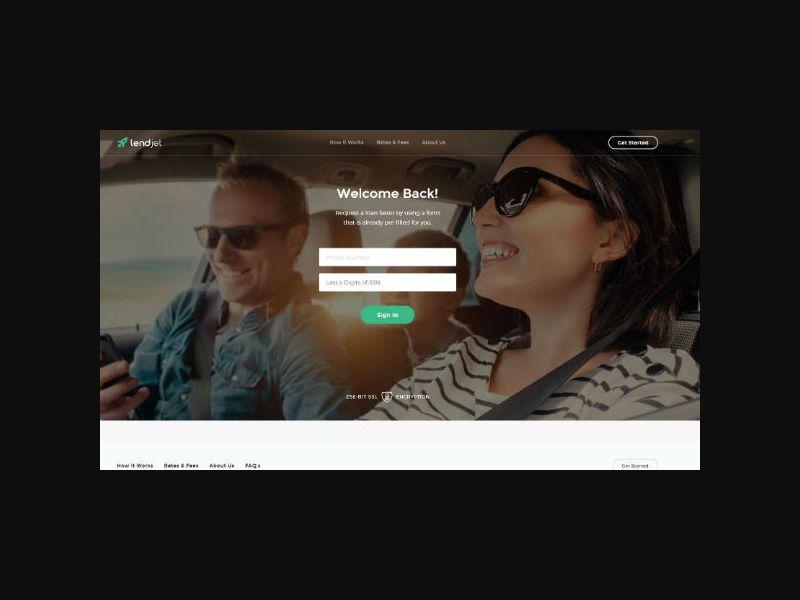 LendJetFunds.com - Personal Loan - US (Small Bucket)