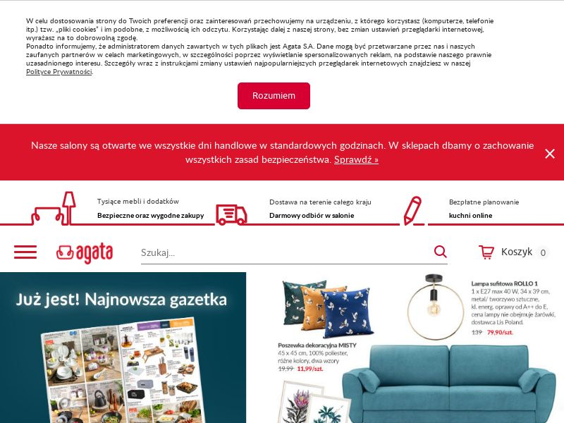 Agata Meble - PL (PL), [CPS], House and Garden, Furniture, Household items, Home decoration, Garden, Sell, shop, gift