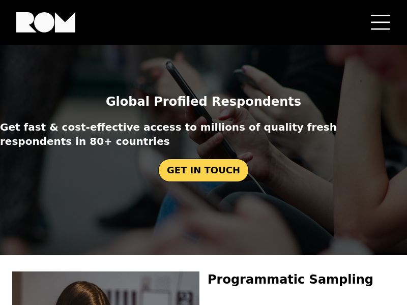 Research On Mobile (ROM) - MY - Incent - - DIRECT