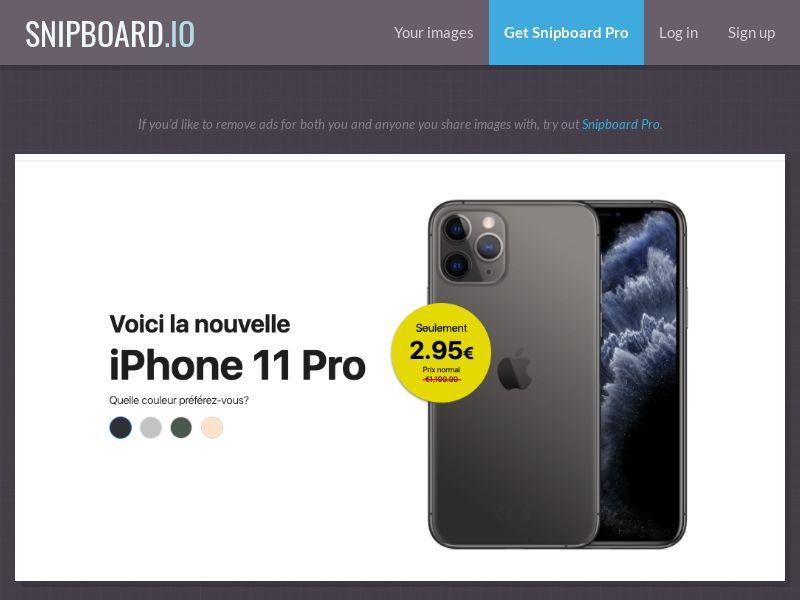 37677 - FR - G33K Premium - iPhone 11 Pro - CC submit