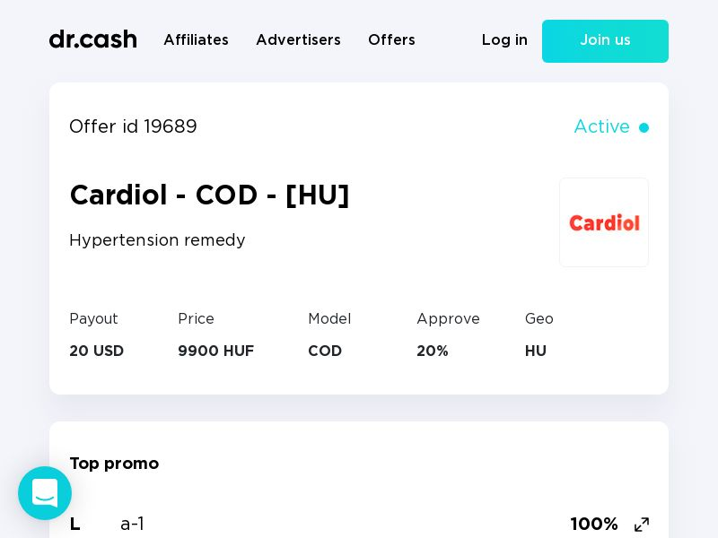 Cardiol - COD - [HU]