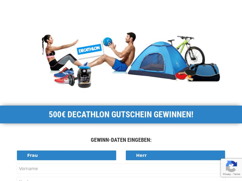 Win a €500 Decathalon Voucher CPL [AT]