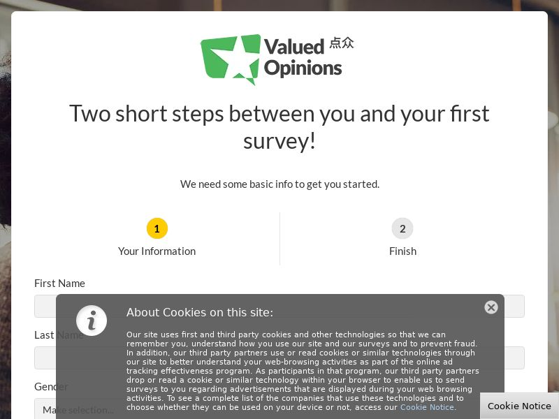 Valued Opinions - SG