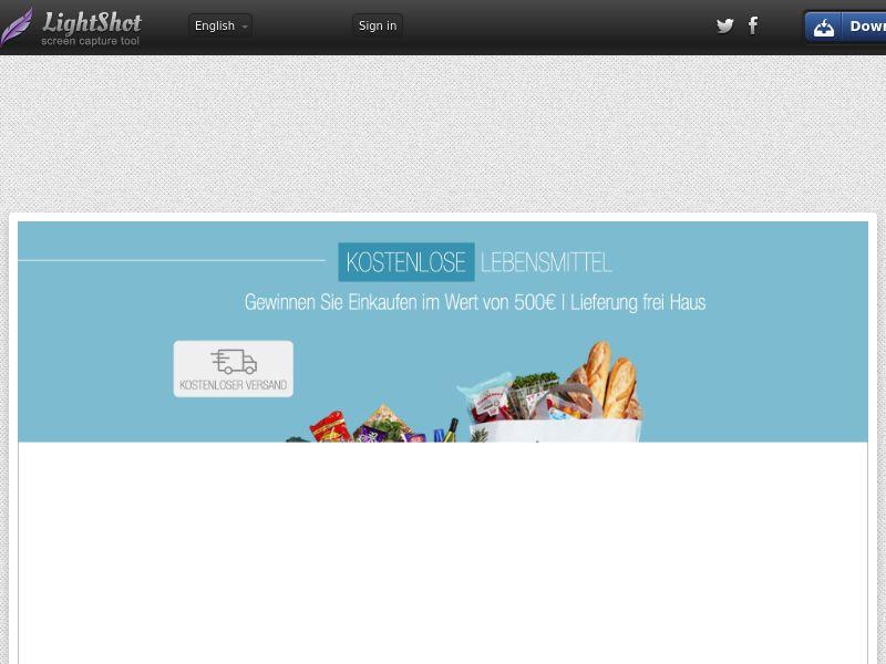 DE - Win €500 Lidl Giftcard- SOI - CPL