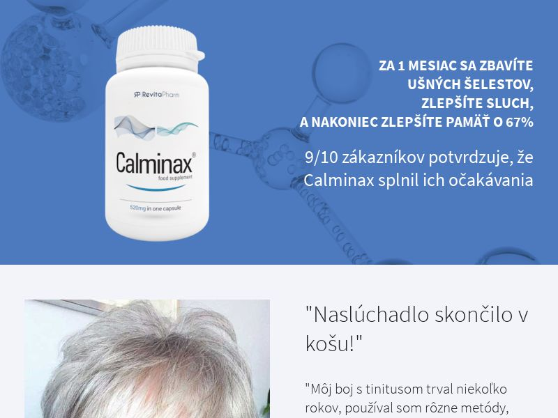 Calminax - SK (SK), [COD], Health and Beauty, Medicine, Sell, Call center contact, coronavirus, corona, virus, keto, diet, weight, fitness, face mask