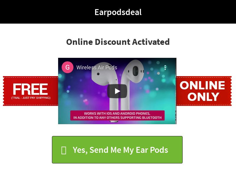 Luzzo Airpods Deal (Trial) - US