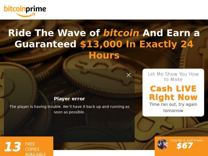 Bitcoin Prime - NO,UK