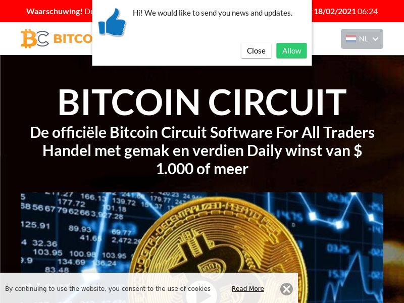 Bitcoin Circuit Pro Now Dutch 1011