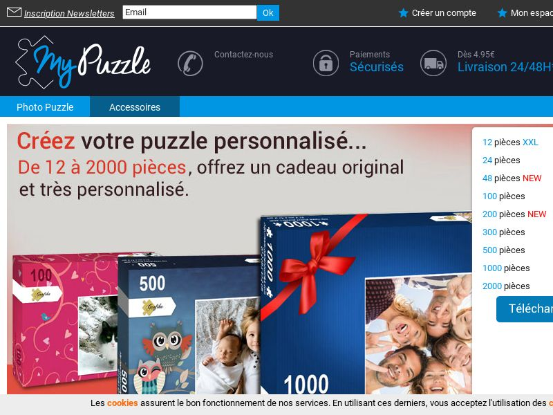 My Puzzle - FR (FR), [CPS], Sport & Hobby, Accessories and additions, Presents, Sell, shop, gift