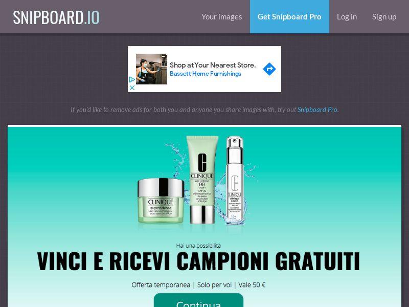 LeadMarket - Clinique Cosmetics IT - SOI