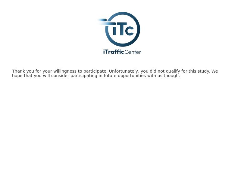 iTC Opportunities Survey Router - INCENT - US