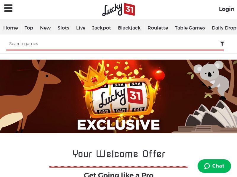 Lucky31 Casino - CPL [AU]