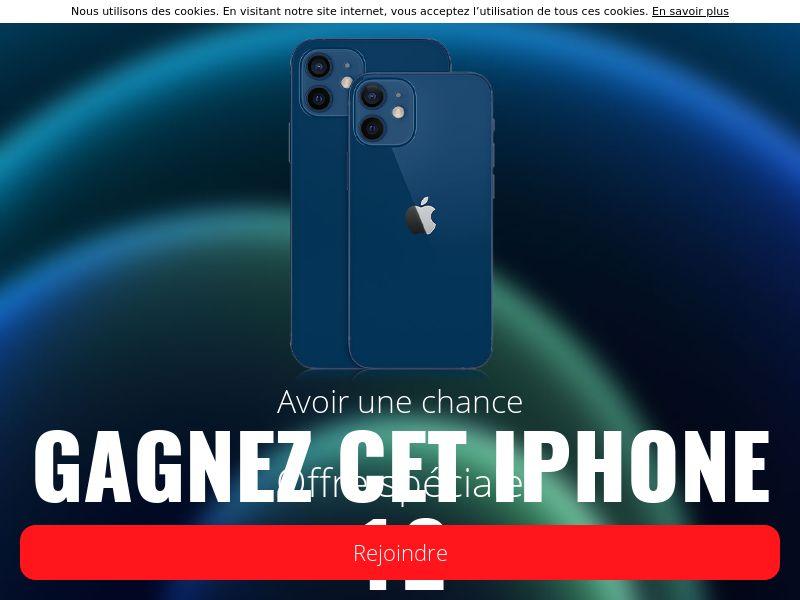 Gagnez cet iPhone 12! - FR