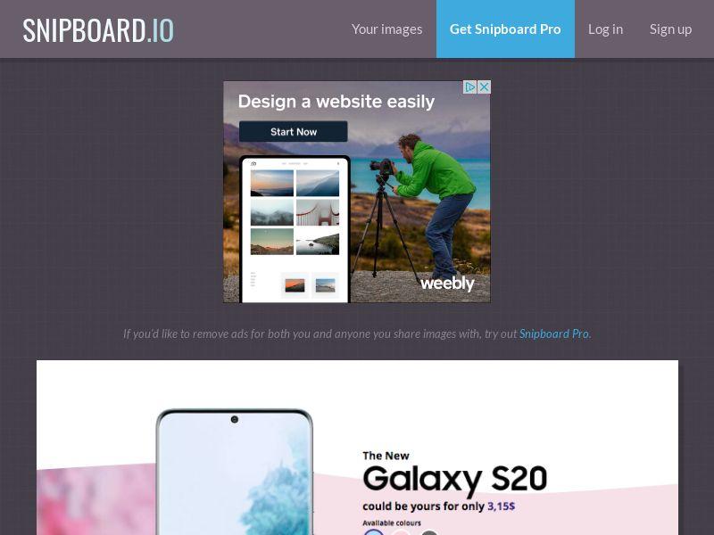 G33K - Samsung Galaxy S20 AT - CC Submit