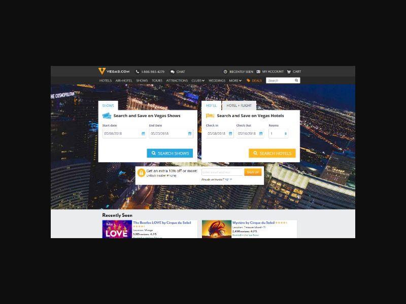 Vegas.com - Official Las Vegas Travel Site