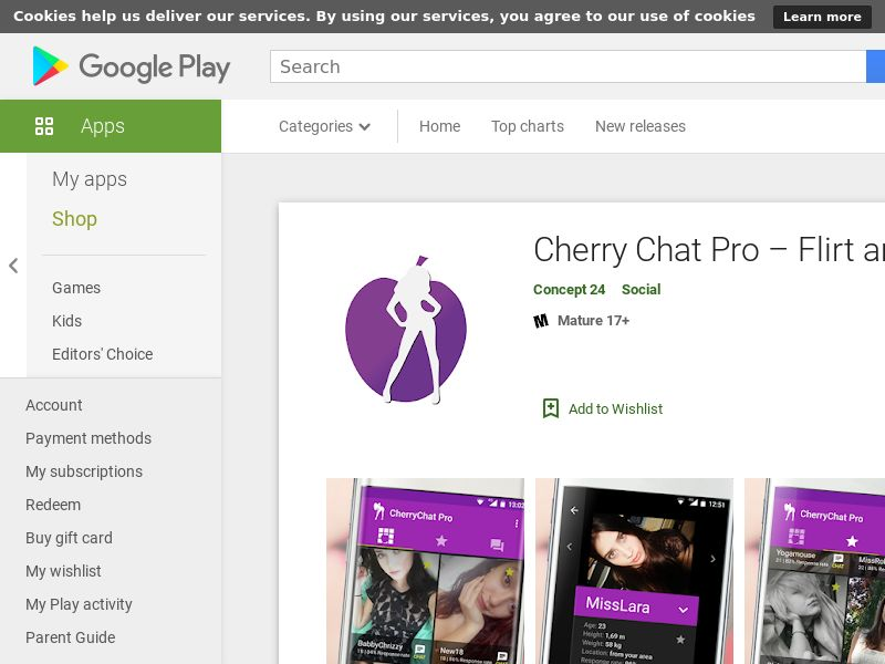 Cherry Chat Pro – Flirt and more