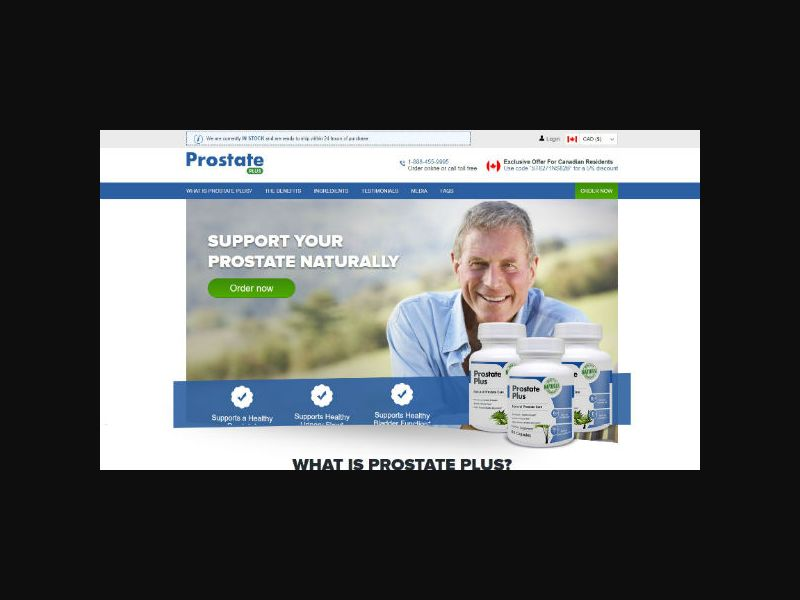 Prostate Plus - Prostate Support (US,CA)