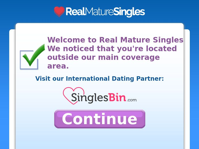 RealMatureSingles 40+ - US