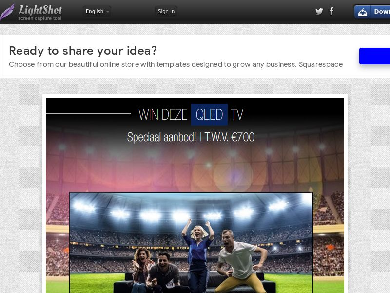 Qled TV UEFA Euro 2020 (BE, NL) (CPL) (Personal Approval)