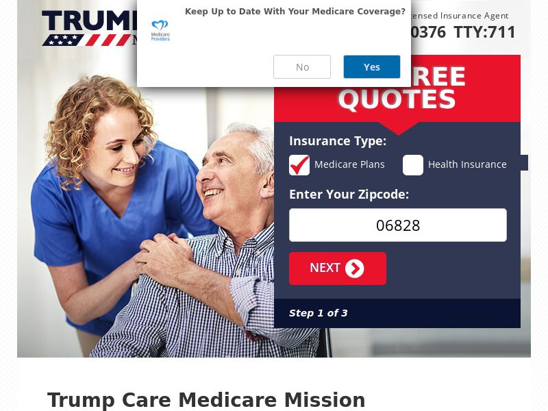US - Trump Care Medicare (M-Thur) - Email