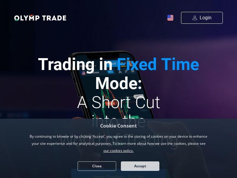 Olymp Trade CPA AZ, AM, BY, KZ, TJ, UA, UZ