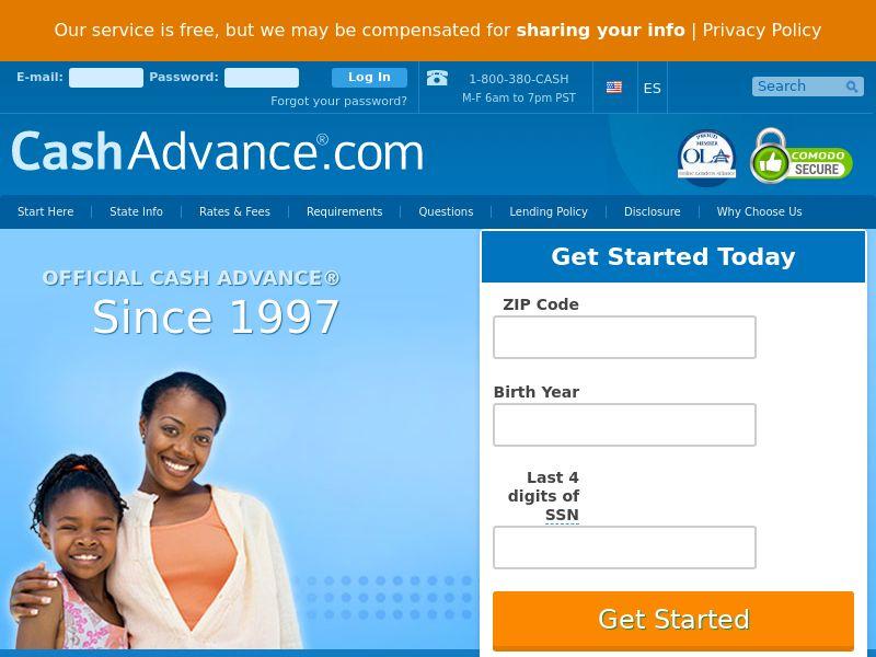 *Private* CashAdvance.com [US] (Email) - RevShare